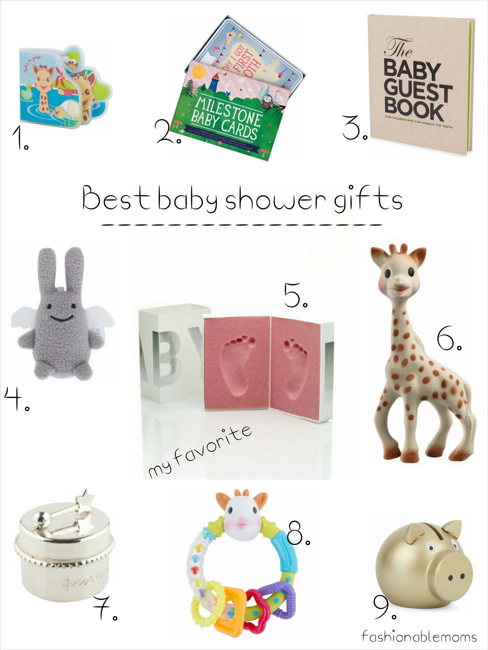 Best Wedding Gift List London : Kids: The best baby shower gifts fashionablemoms
